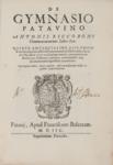 De Gymnasio Patauino Antonij Riccoboni commentariorum libri sex...