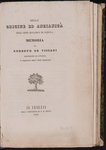 Della origine ed anzianita dell'Orto Botanico di Padova : memoria...