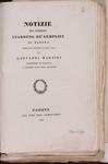 Notizie del pubblico giardino de' semplici di Padova compilate intorno l'anno 1771