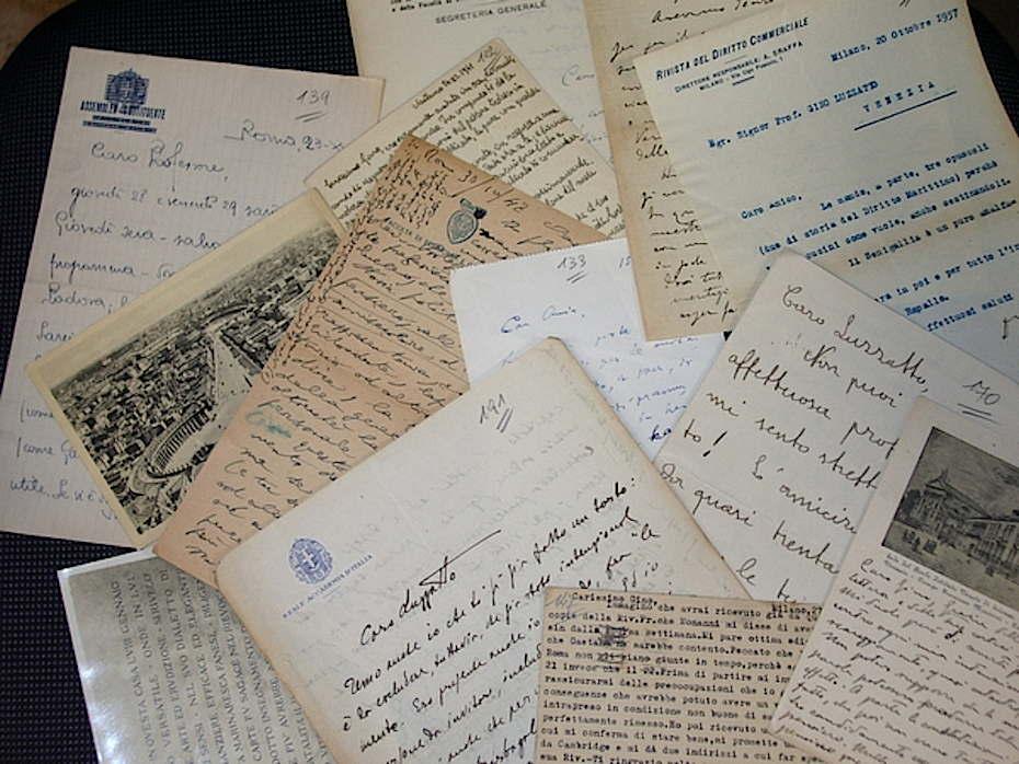 Inventario dell'Archivio Gino Luzzatto