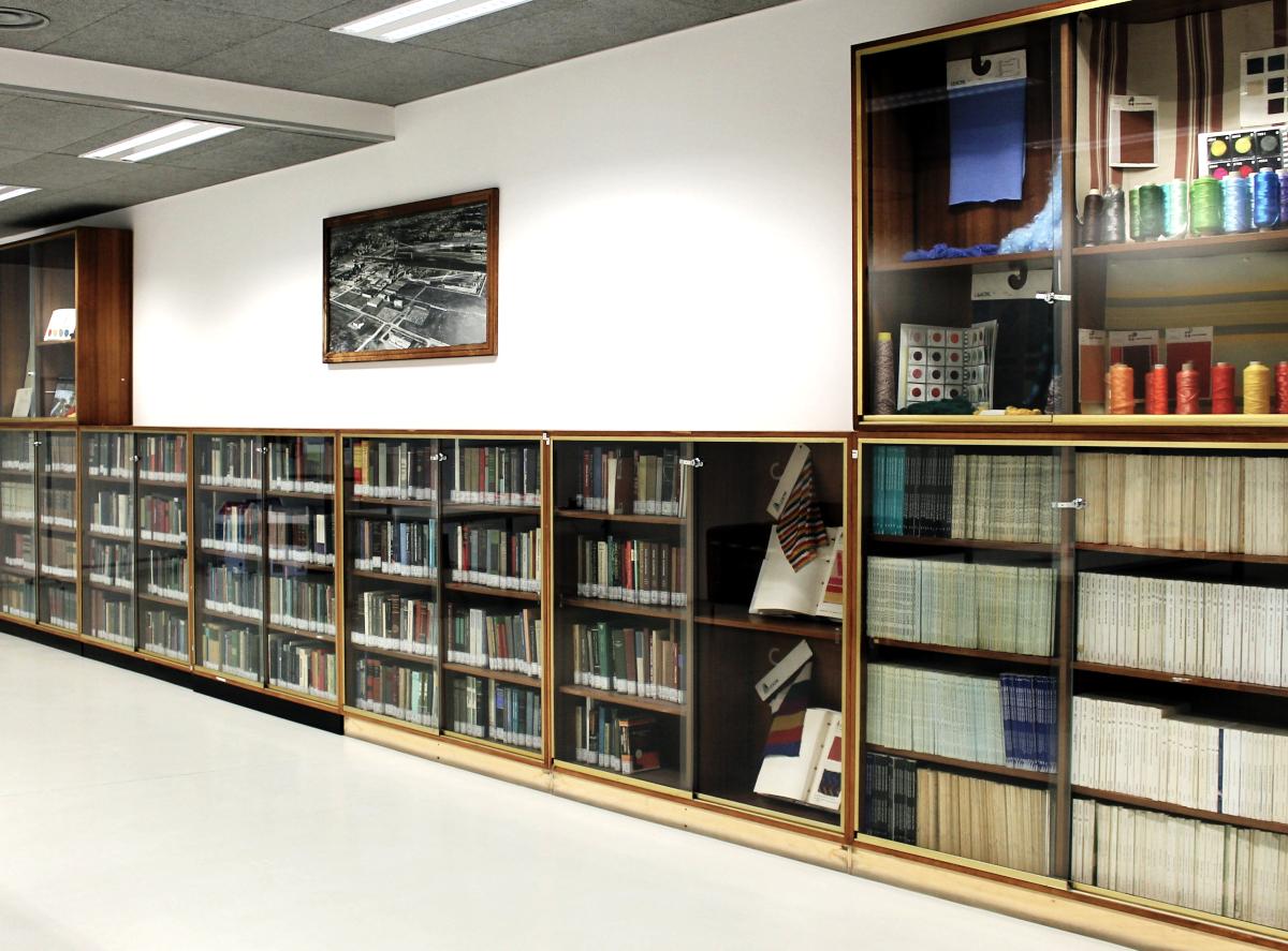 Exhibition area of Montefibre Collection