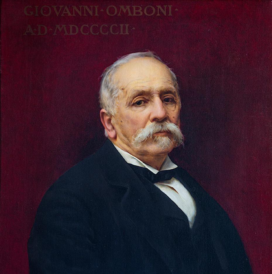 Ritratto di Giovanni Omboni, 1902
