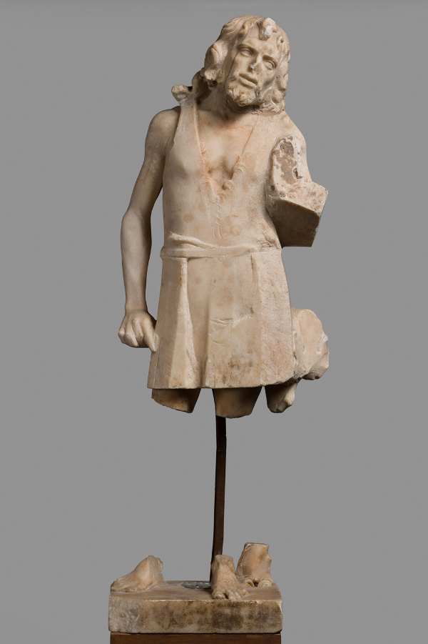 Statuette. Saint John the Baptist